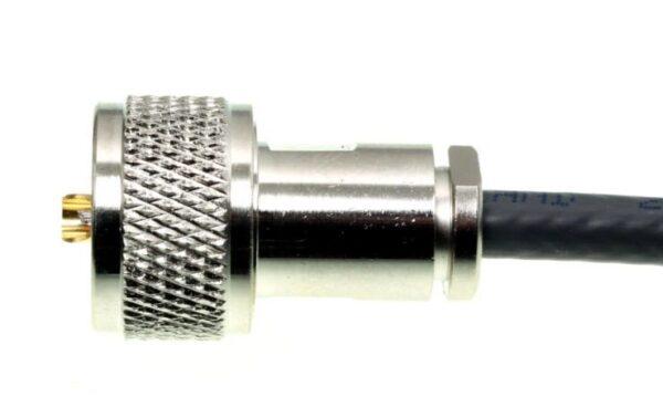 UHF connector voor 5 mm