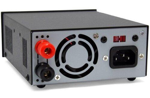 powerwerx 30 amp desktop dc power supply with powerpole connectors 1287 580